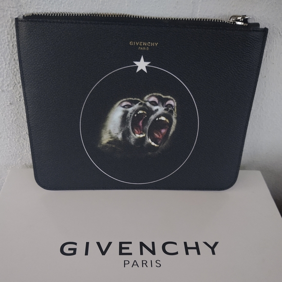 Givenchy Other - Givenchy  Zipped Pouche Monkey Brothers Zipped Pou